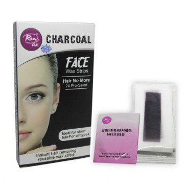 Rivaj UK Charcoal Face Wax Strip