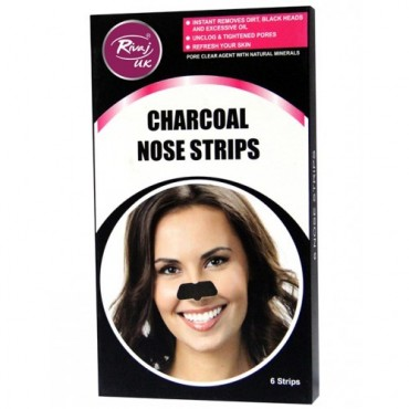 Rivaj UK Charcoal Nose Strips (6 Strips)