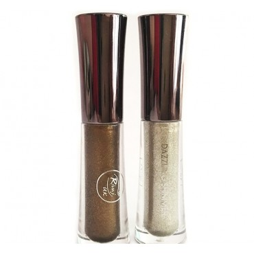 Rivaj Uk Dazzling Shimmer Liquid Eye Shadow 2 ML Silver