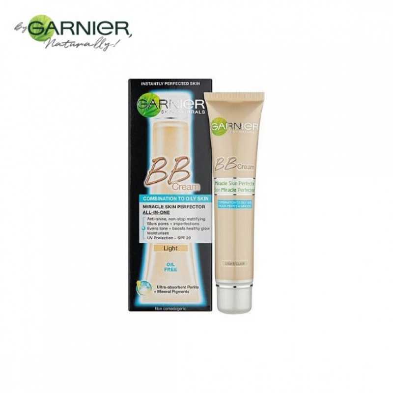 Garnier Skin Active BB Cream, Light, Combination To Oily Skin 40ml