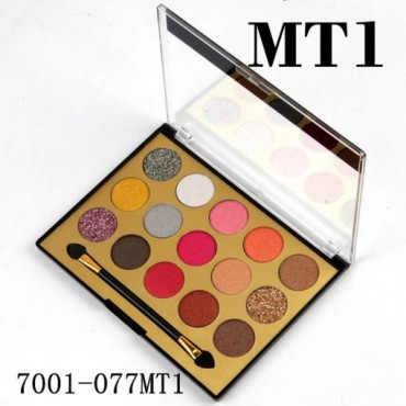 Miss Rose 15 Colors Eyeshadows Palette